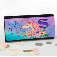 Personalised Stay Magical Unicorn Fantasy Large Ladies Money Coin Purse Mum Gift