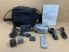Panasonic Pv-Gs300 Mini Dv Camcorder w/ Remote, Charger, & Bag - Free Shipping