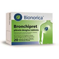 Bionorica BRONCHIPRET 20 Tablets - Chronic Bronchitis,Cold,Cough,Sore