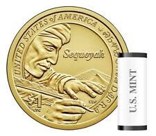 2017 P Sacagawea Dollar Roll Native American Roll Mint Roll BU Coins In Hand