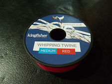 Kingfisher (Boat) Waxed Polyester Medium Whipping Twine - 20m (Approx) Red