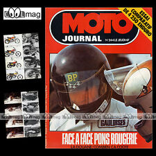 MOTO JOURNAL N°244 ROUGERIE PONS OSSA SUPER PIONEER KTM 250 GS MONTESA ENDURO 75