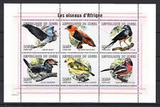 Niger - Michel-Nr. 1825-1830 postfrisch/** als Kleinbogen (Vögel / Birds)