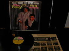 MARTY ALLEN STEVE ROSSI TWO FUNNY FOR WORDS LP NM COMEDY ORIGINAL PRESSING!