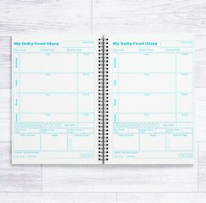 A5 WEIGHT WATCHERS WW COMPATIBLE 12 WEEK FOOD DIARY BOOK 84 DAILY FOOD DIARIES