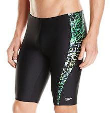 Speedo Men's Xtra Life Lycra Shatter Skin Jammer Swimsuit Size M(32) Swimwear