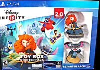 Disney Infinity 2.0 Sony PS4 PlayStation Toy Box Starter Pack Stitch & Merida
