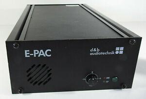 D & B Audiotechnik E-PAC Leistungsverstärker-Controller 1 x 300 W bei 8 Ω