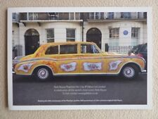 brochure 1965 Rolls Royce Phantom V Mulliner Park Ward John Lennon the Beatles