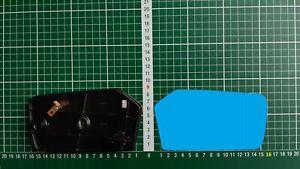 Außenspiegel Spiegelglas Ersatzglas Mercedes W123 W116 W107 Re asph Blau kpl bhz