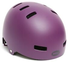 BELL Span Skate Helmet Youth SMALL 51-55cm Plum Skateboard BMX Dirt Jump Bike