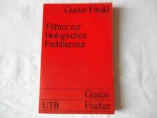 Gustav Ewald: Führer zur biologischen Fachliteratur