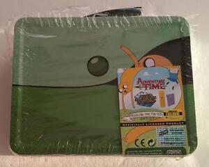 "Signé Jeremy Shada "" Finn "" Adventure Time 2015 Sdcc Limitée Jake Fourre-Tout"