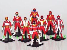 Bandai Super Sentai Ranger Red Chronicle Vol 1 Gashapon figure (full set 8 pcs)