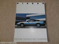 Nissan 200SX Sunny Prairie Maxima 1989 UK Market. Brochure. Collectors condition