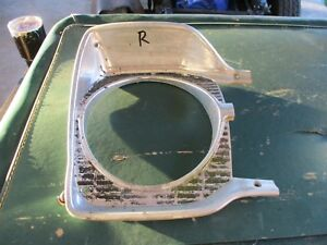 65 PLYMOUTH BELVEDERE II SATELLITE RIGHT HEADLIGHT TRIM SURROUND BEZEL DOOR OEM