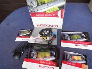 Becker Cascade 7945 mit Software, Mikrofon, GPS Antenne, Anleitung, Top Zustand