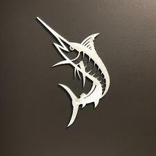 Marlin Aluminum Metal Wall Art Skilwerx 15x8 Ocean Nautical Beach