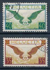 Schweizer Bundespost-Briefmarken (bis 1944) mit BPP-Signatur