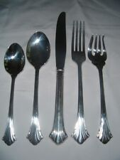 Reed & Barton 5 pps Highlands Silverplate Excellent Condition! (Multi Avail)
