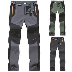 Summer Men Quick Dry Waterproof Tactical Pants Climbing Hiking Trousers Outdoor