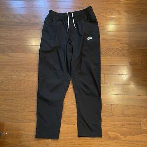 Nike Sportswear NSW Mens Utility Woven Activewear Pants SZ Large Black/White $85