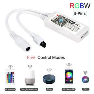 Magic Home 5-28V Wireless WiFi LED Controller RGBW Led strip Remote Alexa Google