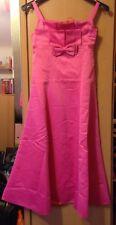 Prinzessinnen Ballkleid Hochzeit Festlich Pink Rosa 12Jahre (Gr.152)