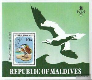 Maldives Block46 unmounted mint / never hinged 1977 Birds