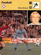 Fiche Photo Football NICO BRAUN Edit RENCONTRE