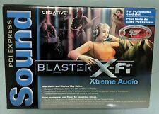 NEW Creative Sound Blaster X-Fi Xtreme Audio PCI Express Certified Sound Card