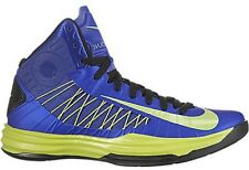 NEW Nike LUNAR HYPERDUNK 2012 sz 18 ROYAL BLUE LIME GREEN Sneaker Shoes