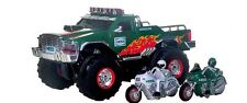 2007 Hess Monster Truck~ Mint in the Box w/2 Motorcycles!  Lights,  Sounds, Horn
