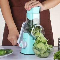 Manual Hand Speedy Mandoline Slicer Pasta Salad Maker Fruit Vegetable Cutter DD