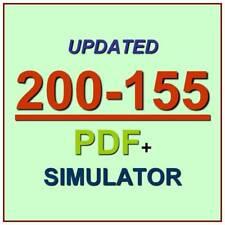 Cisco CCNA Data Center Technologies DCICT Test 200-155 Exam QA PDF+Simulator