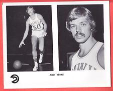 1974  HAWKS  JOHN BROWN  GLOSSY  8 X 10  TEAM ISSUED  PHOTO