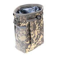 Pouch Bag  Molle Belt Tactical Paintball Magazine Dump Drop Reloader Utility Bag