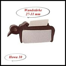 Muster Fensterdichtung Gummiprofil für Ausstellfenster 27-31mm  Musterstück