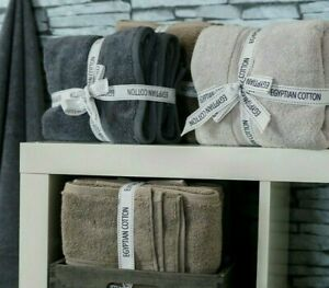 Allure Supersoft Egyptian Cotton Towels 2 Pack Bathroom Hand Bath Towels Sheets