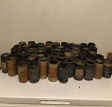 Lot Of 57 Vintage Edison Blue Amberol Cylinder Records Some Rare
