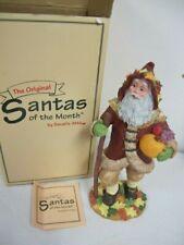 "Santa Of The Month Figure 8"" Harvest November Series G Sarah'S Attic"