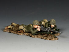 "KING & COUNTRY DD311 WWII ""U.S. ARMY INFANTRY MACHINE GUN TEAM""..INTO THE REICH"
