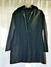 Dutchmaid Vintage Black Women Jacket Buttons, Pockets, Quilt Liner, Collar