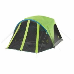 Coleman Carlsbad 4-Person Darkroom Dome Tent with Screen Room