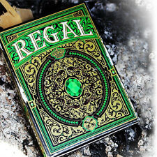 Regal Playing Cards - Green Deck - Magic Tricks - New