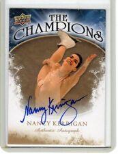 """2009 UPPER DECK NANCY KERRIGAN CHAMPIONS """"OLYMPIC SKATING LEGEND"""" AUTOGRAPH AUTO"""