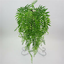 1x Artificial Ivy Leaf Garland Plants Fake Weeping Willow Foliage Rattan Eyeful