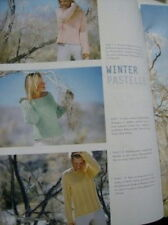 ONline Knitting Book Winter 2002 With 29 Adult Sweaters-All Shown