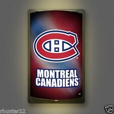 Montreal Canadiens NHL Licensed MotiGlow™ Light Up Sign - Free USA shipping!
