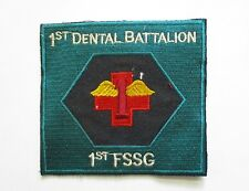 Patch_ USMC 1st DENTAL Battalion 1st First Service Support Group _ USMC